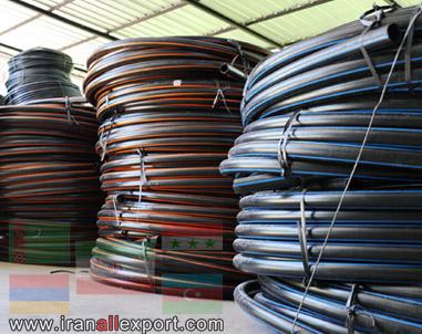 Polyethylene pipe PE80, PE100