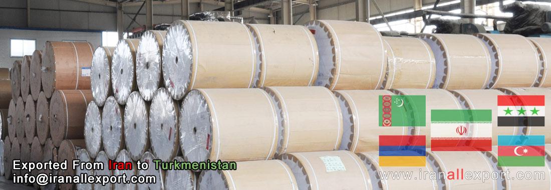 23 Tons White Paper Tehran Iran Ashgabat Turkmenistan