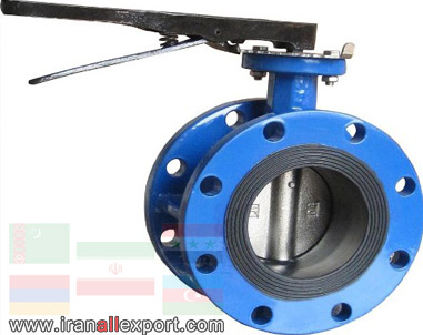 Butterfly Valve with Flange