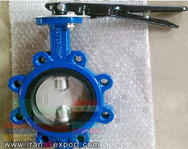 Butterfly Valve without Flange